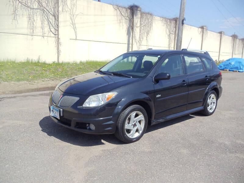 2006 Pontiac Vibe for sale at Metro Motor Sales in Minneapolis MN