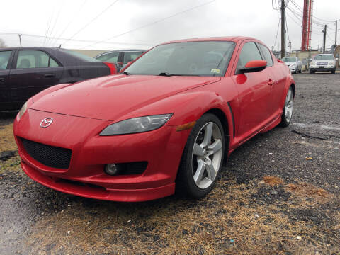 2004 Mazda RX-8 for sale at Ride One Auto Sales in Norfolk VA