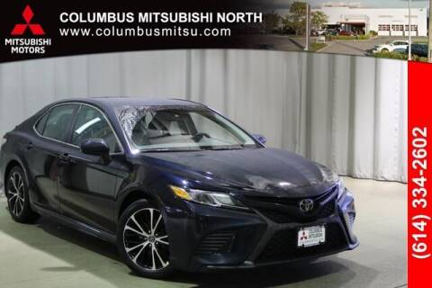 2018 Toyota Camry for sale at Auto Center of Columbus - Columbus Mitsubishi North in Columbus OH