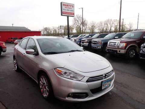 2013 Dodge Dart for sale at Marty's Auto Sales in Savage MN