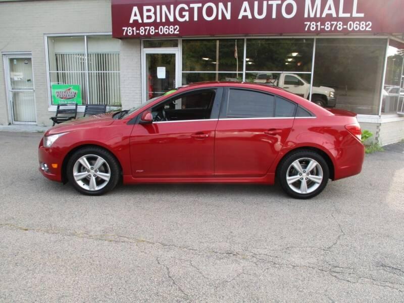 2014 Chevrolet Cruze for sale at Abington Auto Mall LLC in Abington MA
