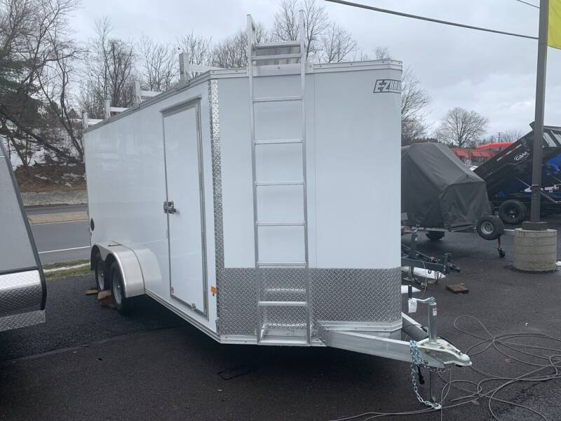 2021 Mission 7x16 Ultimate Contractor  for sale at Smart Choice 61 Trailers in Shoemakersville PA