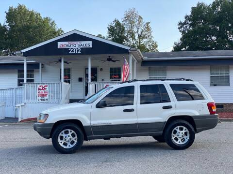 1999 Jeep Grand Cherokee for sale at CVC AUTO SALES in Durham NC