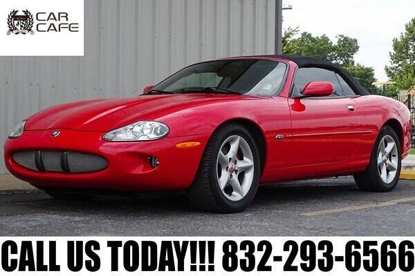 2000 Jaguar XK-Series for sale at CAR CAFE LLC in Houston TX