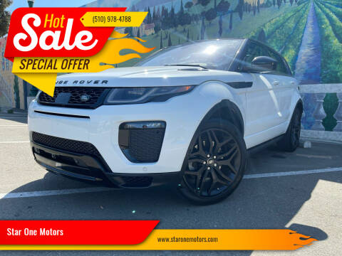 2016 Land Rover Range Rover Evoque for sale at Star One Motors in Hayward CA