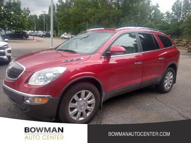 2012 Buick Enclave for sale at Bowman Auto Center in Clarkston MI