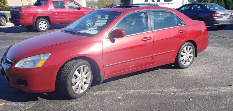 2007 Honda Accord for sale at PEKARSKE AUTOMOTIVE INC in Two Rivers WI