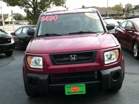 2006 Honda Element for sale at JIMS AUTO MART INC in Milwaukee WI