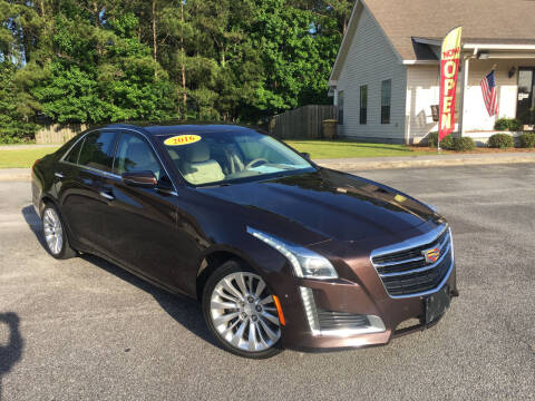 2016 Cadillac CTS for sale at J. MARTIN AUTO in Richmond Hill GA