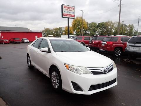2014 Toyota Camry for sale at Marty's Auto Sales in Savage MN