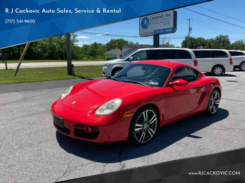 2007 Porsche Cayman for sale at R J Cackovic Auto Sales, Service & Rental in Harrisburg PA
