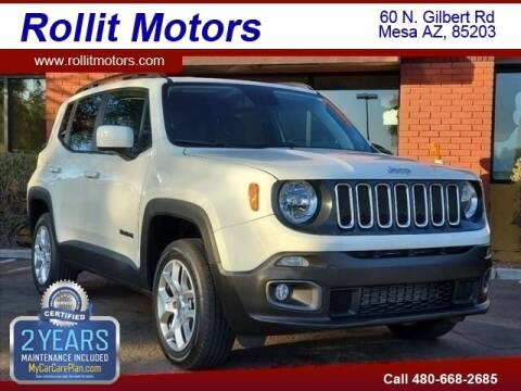 2018 Jeep Renegade for sale at Rollit Motors in Mesa AZ