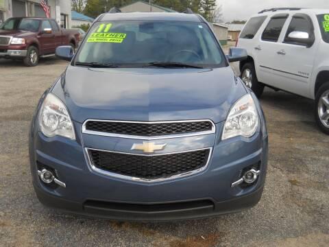 2011 Chevrolet Equinox for sale at Shaw Motor Sales in Kalkaska MI