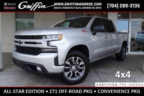 2019 Chevrolet Silverado 1500 for sale at Griffin Buick GMC in Monroe NC