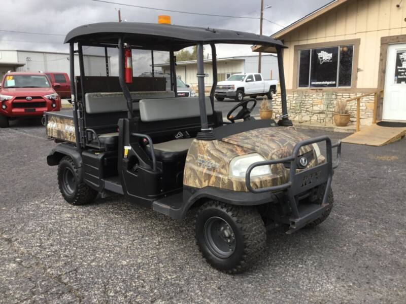 2015 Kubota RTV 1140 CPX for sale at The Trading Post in San Marcos TX