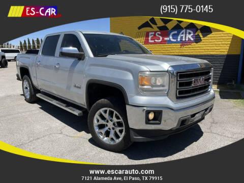2014 GMC Sierra 1500 for sale at Escar Auto in El Paso TX