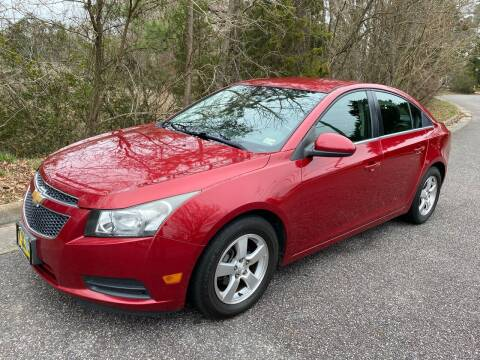 2013 Chevrolet Cruze for sale at Coastal Auto Sports in Chesapeake VA