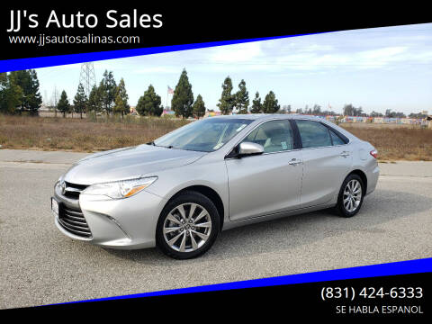 2017 Toyota Camry for sale at JJ's Auto Sales in Salinas CA