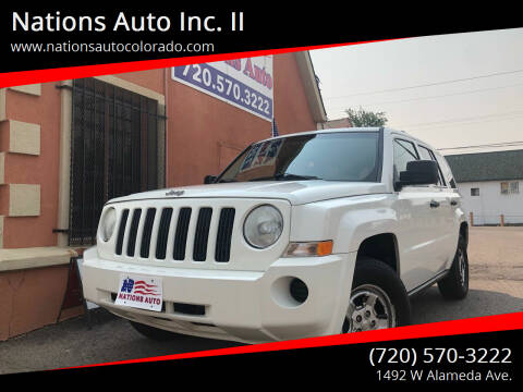 2009 Jeep Patriot for sale at Nations Auto Inc. II in Denver CO