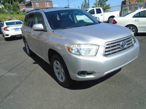 2008 Toyota Highlander for sale at Broadway Auto Services in New Britain CT