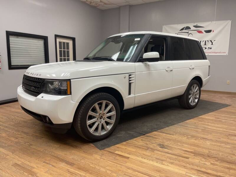 2012 Land Rover Range Rover for sale at Quality Autos in Marietta GA