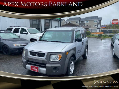 2004 Honda Element for sale at Apex Motors Parkland in Tacoma WA