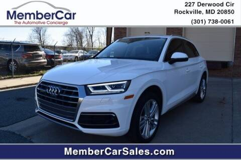 2018 Audi Q5 for sale at MemberCar in Rockville MD