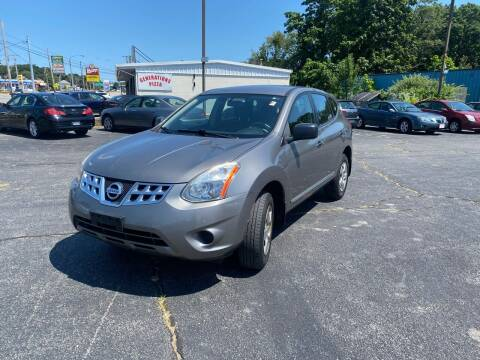 2011 Nissan Rogue for sale at M & J Auto Sales in Attleboro MA