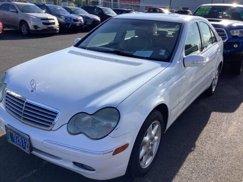 2003 Mercedes-Benz C-Class for sale at Royal Moore Custom Finance in Hillsboro OR