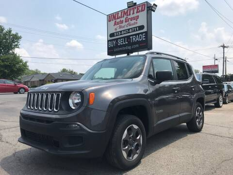 2018 Jeep Renegade for sale at Unlimited Auto Group in West Chester OH
