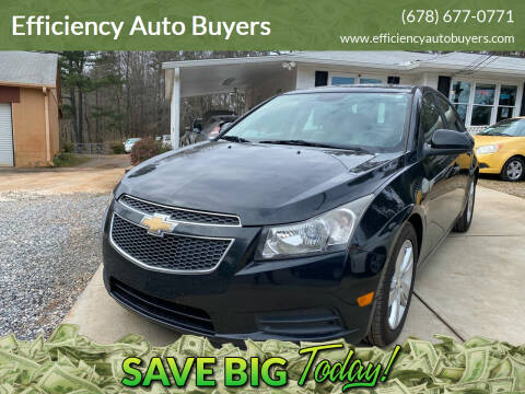 2014 Chevrolet Cruze for sale at Efficiency Auto Buyers in Milton GA