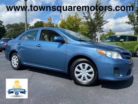 2013 Toyota Corolla for sale at Town Square Motors in Lawrenceville GA