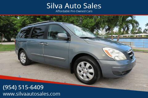 2008 Hyundai Entourage for sale at Silva Auto Sales in Pompano Beach FL