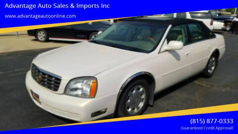 2005 Cadillac DeVille for sale at Advantage Auto Sales & Imports Inc in Loves Park IL
