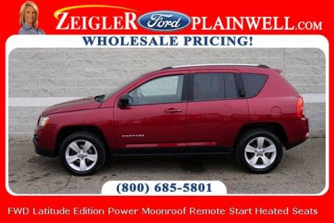 2011 Jeep Compass for sale at Zeigler Ford of Plainwell- michael davis in Plainwell MI