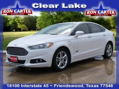 2015 Ford Fusion Energi for sale at Ron Carter  Clear Lake Used Cars in Houston TX