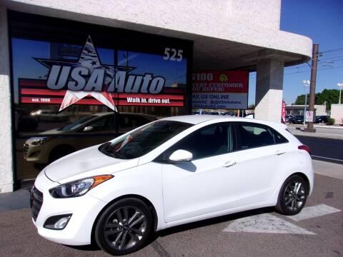 2016 Hyundai Elantra GT for sale at USA Auto Inc in Mesa AZ