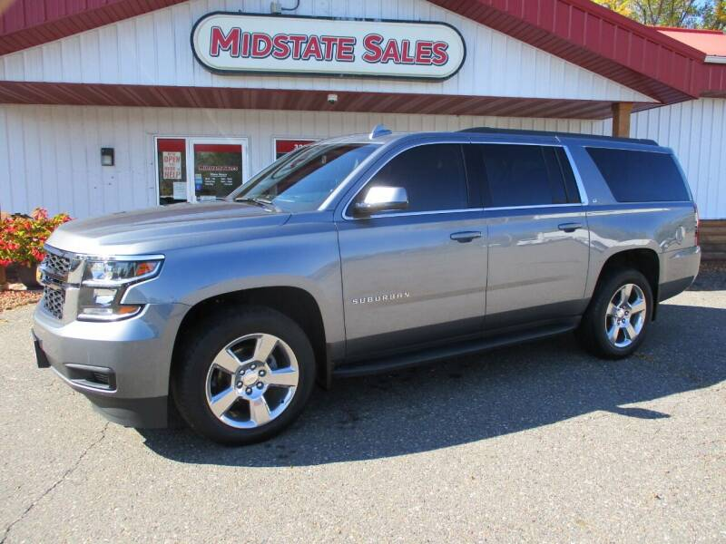 2019 Chevrolet Suburban for sale at Midstate Sales in Foley MN