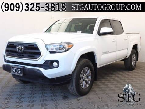 2017 Toyota Tacoma for sale at STG Auto Group in Montclair CA