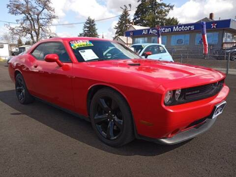 2014 Dodge Challenger for sale at All American Motors in Tacoma WA
