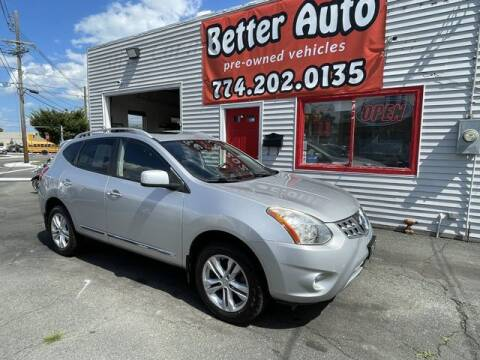 2013 Nissan Rogue for sale at Better Auto in Dartmouth MA
