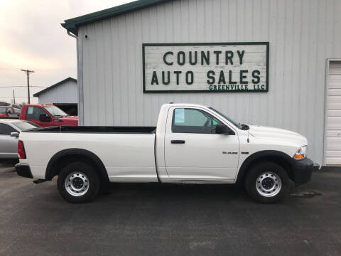 2009 Dodge Ram Pickup 1500 for sale at COUNTRY AUTO SALES LLC in Greenville OH