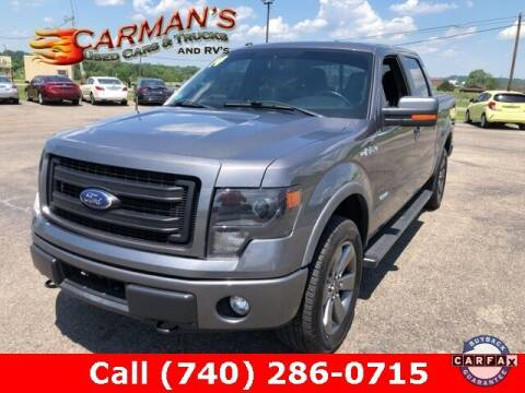 2014 Ford F-150 for sale at Carmans Used Cars & Trucks in Jackson OH