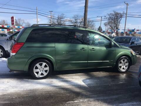 2004 Nissan Quest for sale at Antique Motors in Plymouth IN