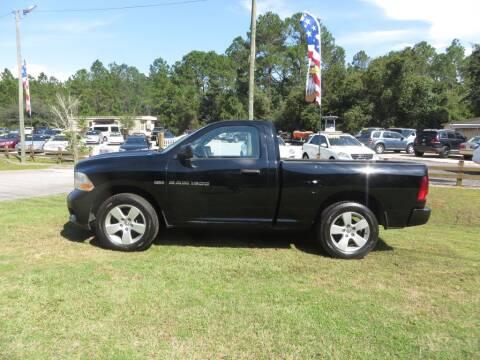 2012 RAM Ram Pickup 1500 for sale at Ward's Motorsports in Pensacola FL
