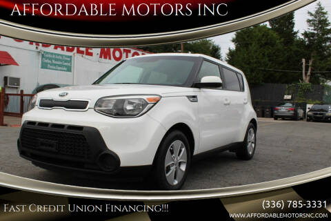2016 Kia Soul for sale at AFFORDABLE MOTORS INC in Winston Salem NC