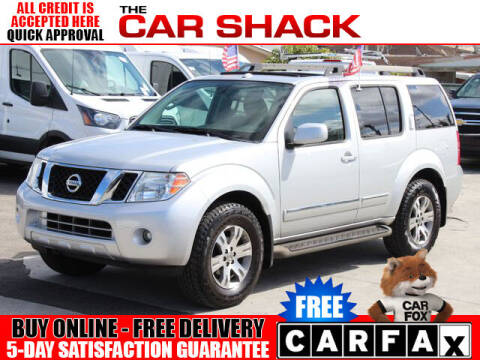 2012 Nissan Pathfinder for sale at The Car Shack in Hialeah FL