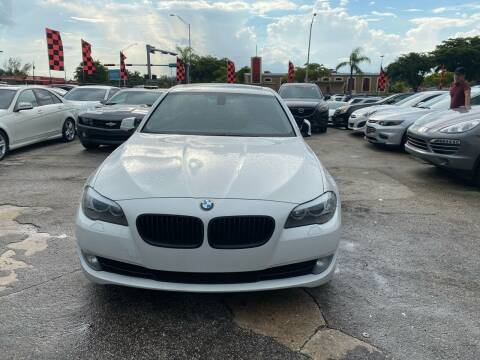2012 BMW 5 Series for sale at America Auto Wholesale Inc in Miami FL