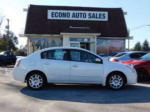 2011 Nissan Sentra for sale at Econo Auto Sales Inc in Raleigh NC