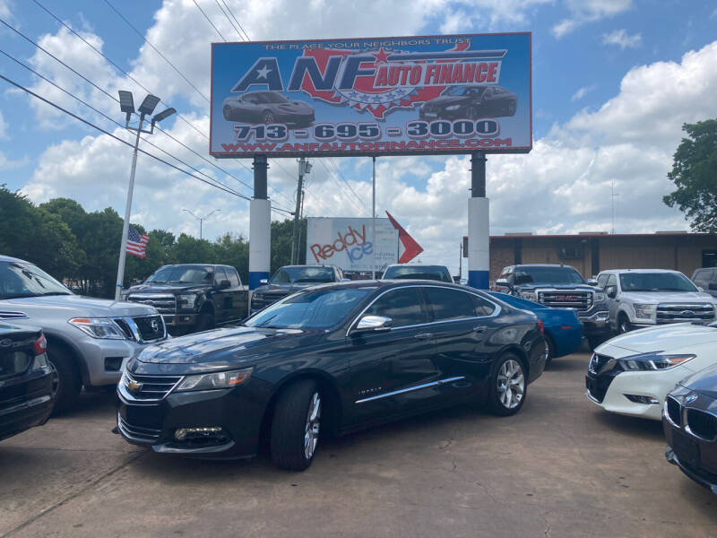 2014 Chevrolet Impala for sale at ANF AUTO FINANCE in Houston TX